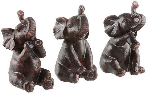 HOME AFFAIRE Dekoratyvinės fogūrėlės »Elefanten« (3...