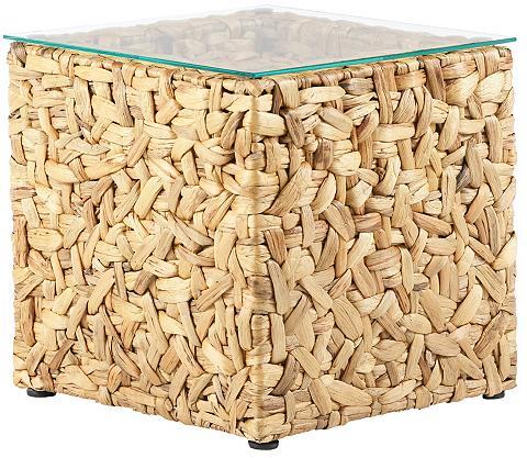 Pristatomas stalas iš pintas iš vyteli...