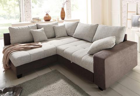Kampinė sofa »Greenwich« patogi su mie...
