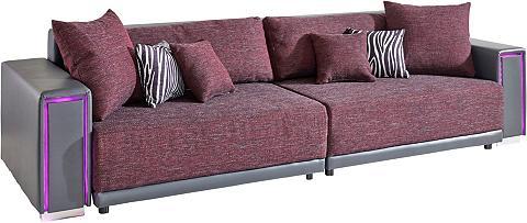 Didelė sofa su LED apšvietimas