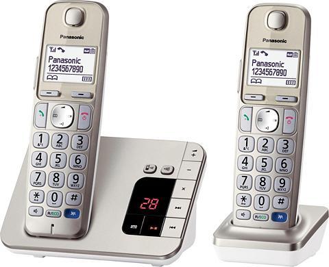 PANASONIC KX-TGE222GN dvi Bevielis DECT Telefonų...
