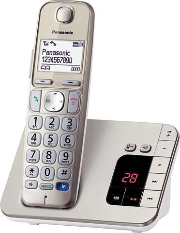 PANASONIC KX-TGE220GN Bevielis DECT Telefonas su...