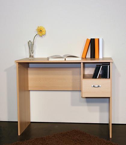 Rašomasis stalas »Flo« su 1 stalčiai