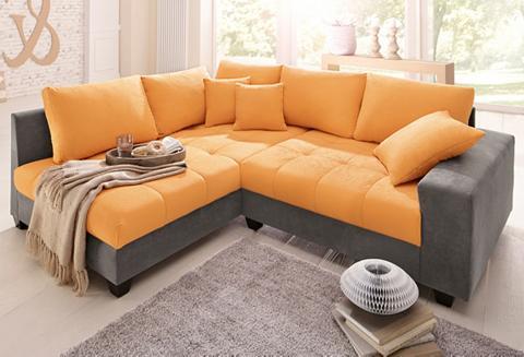 HOME AFFAIRE Kampinė sofa »Greenwich« patogi su mie...