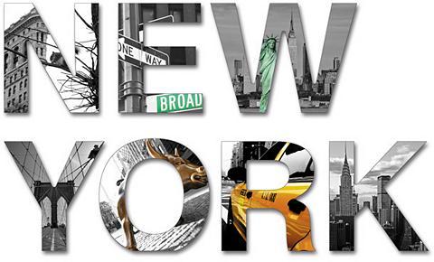 Plastikinės raidės »3D New York« (7 da...