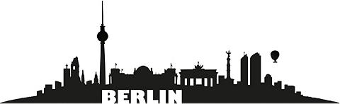Sienos lipdukai »Berlin Skyline« in 2 ...