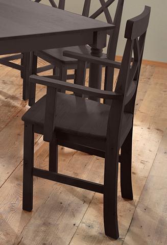 HOME AFFAIRE Kėdė »Nico« su porankiai 2-iejų vienet...