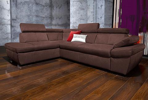 exxpo - sofa fashion Ecksofa su Kopfteil- ir Armteilverstel...