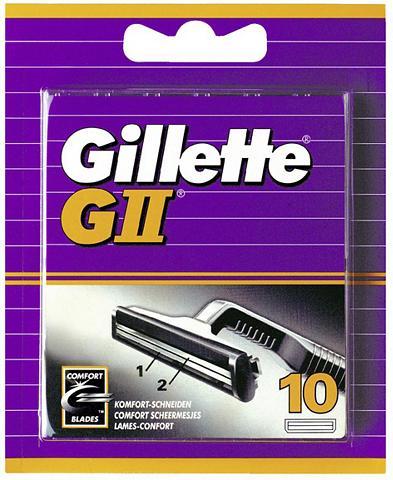 GILLETTE »GII« skustuvo peiliukai (10 vnt.)