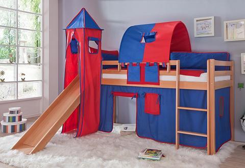 Dviaukštė lova rinkinys 4 dalys >>Toby...
