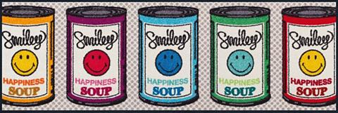 Durų kilimėlis »Smiley Happiness Soup«...