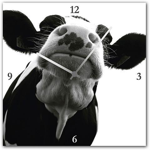 Sieninis laikrodis »Kuh« 30/30 cm