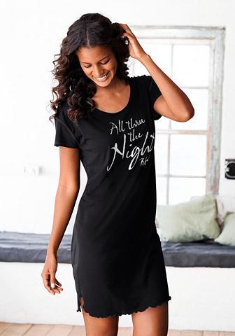 Naktiniai marškiniai su überschnittene...