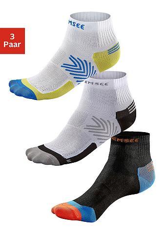 CHIEMSEE Trumpas Sportinės kojinės (3 poros) sc...