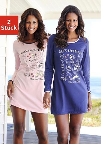 VIVANCE DREAMS Naktiniai marškiniai (2 vienetai) su s...