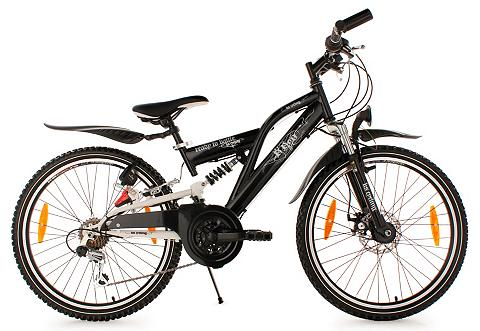 Jugend kalnų dviratis 24 Zoll juoda sp...
