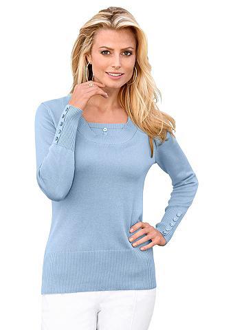 Megztinis su madingas intarpas