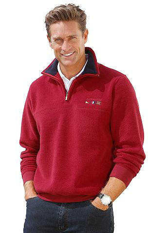 CATAMARAN Flisinis megztinis su apvadas