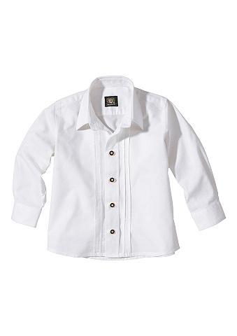 OS-TRACHTEN Vaikiški tautinio stiliaus marškiniai