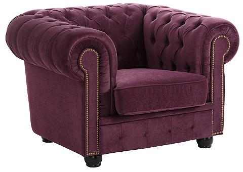 ® Chesterfield Fotelis »Rover« su subt...