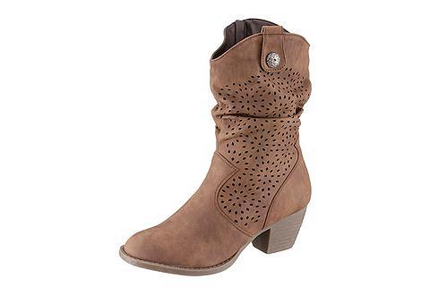 CITY WALK Kaubojiško stiliaus batai