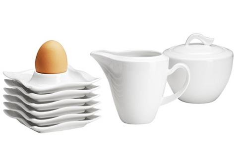 Indelis kiaušiniui Milch Zucker-Set Po...