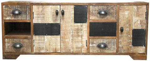 HOME AFFAIRE TV staliukas »Botario« plotis 114 cm