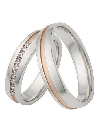FIRETTI Vestuvinis žiedas su Gravur »50 mm gla...
