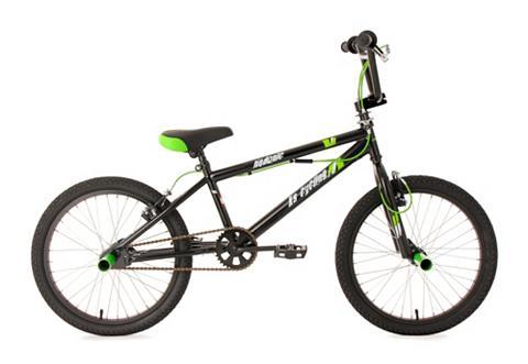 BMX dviratis 20 Zoll juoda spalva 360 ...