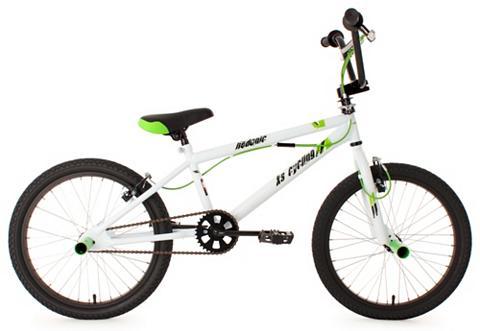 KS CYCLING BMX dviratis 20 Zoll weiß 360 Grad Rot...