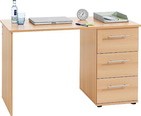 Rašomasis stalas »Tobi« su 3 stalčiai