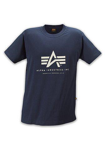 ALPHA INDUSTRIES Marškinėliai »Basic Marškinėliai
