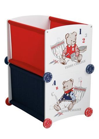 Dėžė »Teddy College - blau«