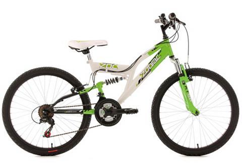 Kalnų dviratis jaunuoliams Fully 24 Zo...