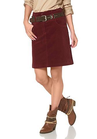 CHEER Velvetinis sijonas