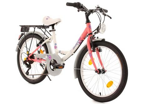 DACAPO Jaunimo dviratis 20 Zoll 6-Gang-Ketten...