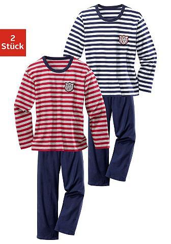 Pižama (2 vienetai) su garngefärbtem S...