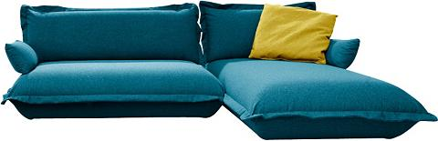 TOM TAILOR Kampinė sofa »CUSHION« flexibel montie...
