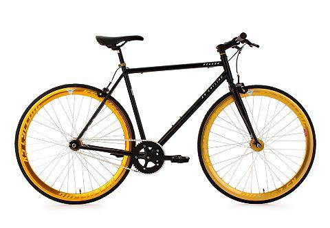 Sportinis dviratis 28 Zoll schwarz-gol...