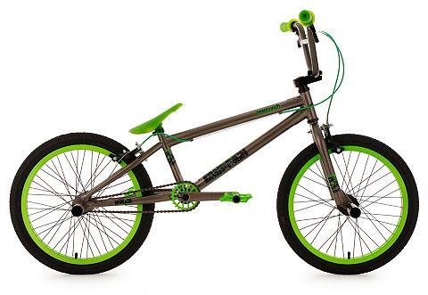 BMX dviratis 20 Zoll anthrazit-grün »T...