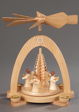 ALBIN PREISSLER Weihnachts-Pyramide natur Albin Preißl...