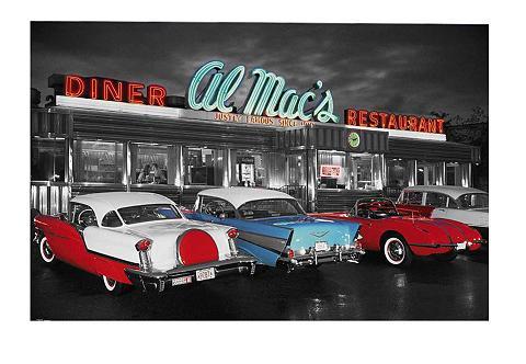 Paveikslas »Al Mac's Diner« 90/60 cm