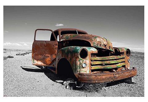 Paveikslas »Wrecked Truck« 90/60 cm