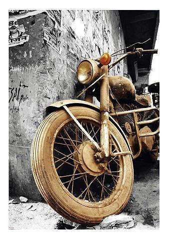 Paveikslas »Brown Motorcycles« 60/90 c...