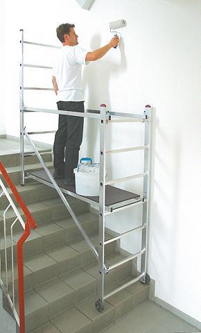 Pastolinės kopėčios »Aluminium«