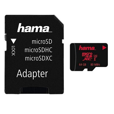 HAMA Micro SDXC 64 GB UHS treniruoklis Clas...