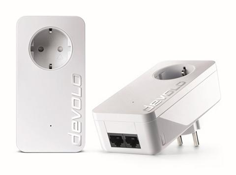 DEVOLO »(500Mbit 2vnt. Kit Powerline 2xLAN St...