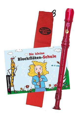 VOGGENREITER Blockflöten-Set »Das spalvoti Blockflö...