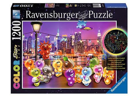 Color-Puzzle 1200 Teile »Pier Party«