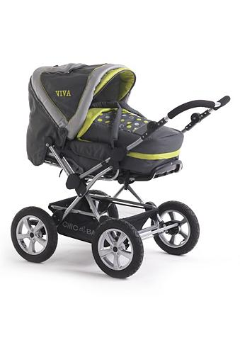 CHIC4BABY Vaikiškas vežimėlis »Viva Lemontree«